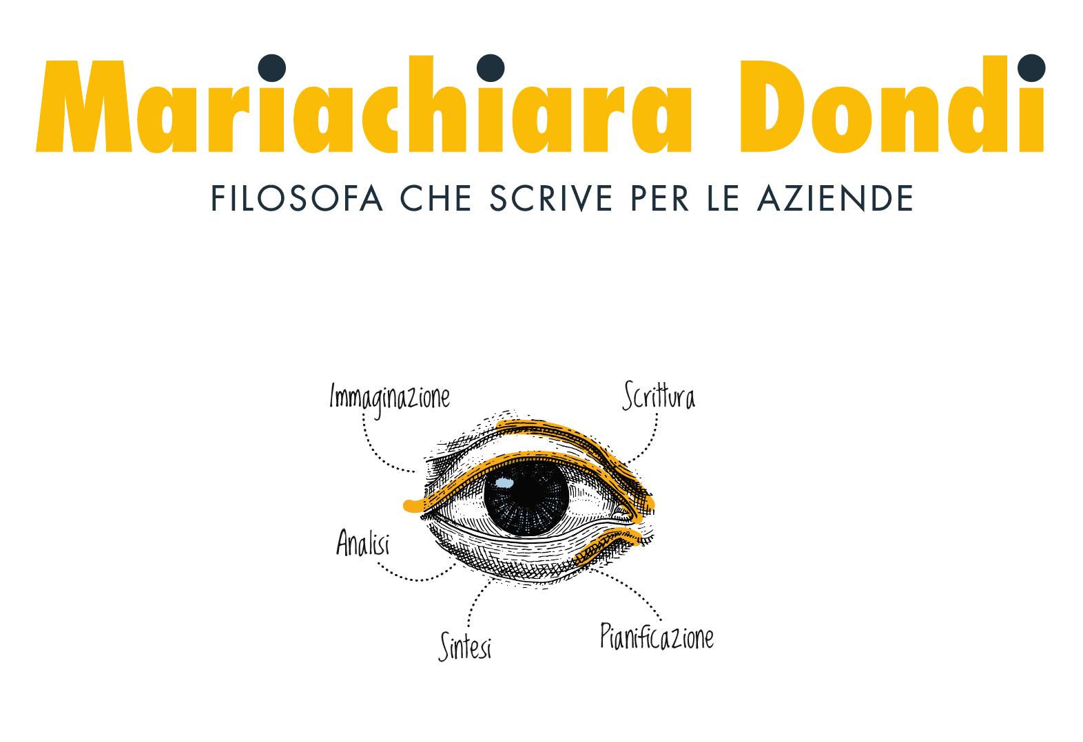 Logo Mariachiara Dondi